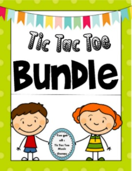 Tic Tac Toe Music Bundle