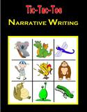 Tic-Tac-Toe Narrative Writing
