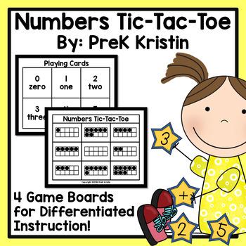 Numbers Tic Tac Toe