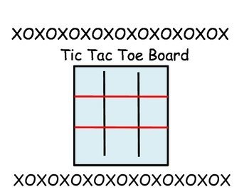 Tic Tac Toe Order of Operation Game