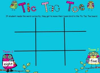 Tic Tac Toe Owls