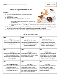 Tic Tac Toe Project (guidelines and rubric) - Levels of Or