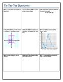 Tic-Tac-Toe Questions- Dilations, Transformations