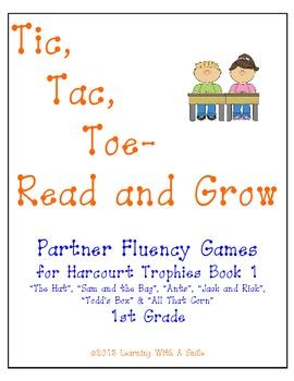 Harcourt Trophies Book 1 ~ Tic, Tac, Toe - Read & Grow Flu