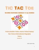 Tic-Tac-Toe Reading Response Choices for All Genres