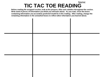7 FREE ESL tic-tac-toe worksheets