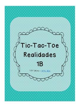 Tic Tac Toe (Realidades 1B)
