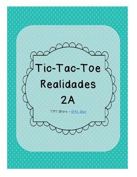 Tic Tac Toe (Realidades 2A)