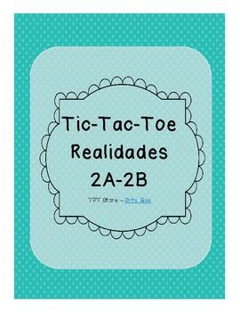 Tic Tac Toe (Realidades 2A-2B)