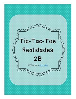 Tic Tac Toe (Realidades 2B)