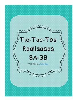 Tic Tac Toe (Realidades 3A-3B)