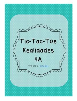Tic Tac Toe (Realidades 4A)