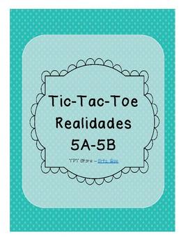 Tic Tac Toe (Realidades 5A-5B)