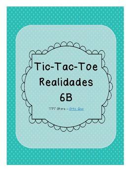 Tic Tac Toe (Realidades 6B)