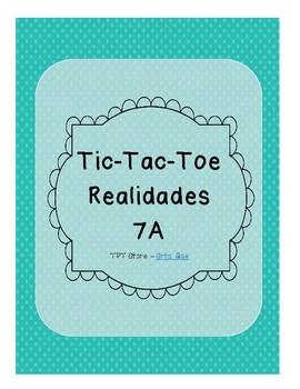 Tic Tac Toe (Realidades 7A)