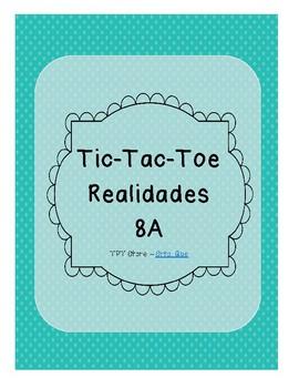 Tic Tac Toe (Realidades 8A)