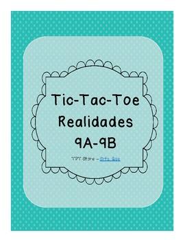 Tic Tac Toe (Realidades 9A-9B)