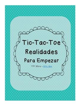 Tic Tac Toe (Realidades PE)