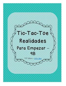 Tic Tac Toe (Realidades PE-9B)