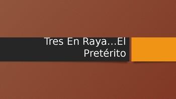 Tic Tac Toe Regular Preterite & Reflexive verbs