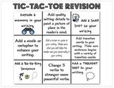 Tic Tac Toe Revision Board