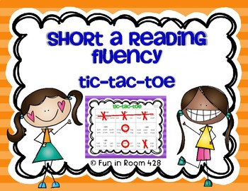 Tic-Tac-Toe ~ Short A Word Family Words