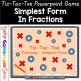 Tic-Tac-Toe Simplest Form Powerpoint Game
