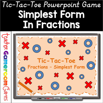 simplest form game  Simplest Form Tic-Tac-Toe Powerpoint Game