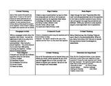 Tic-Tac-Toe Social Studies Explorers Project