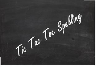 Tic Tac Toe Spelling