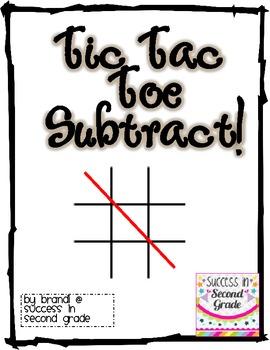 Tic Tac Toe Subtract