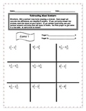 Tic Tac Toe - Subtracting Mixed Numbers with Like Denominators