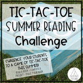 Tic-Tac-Toe Summer Reading Challenge