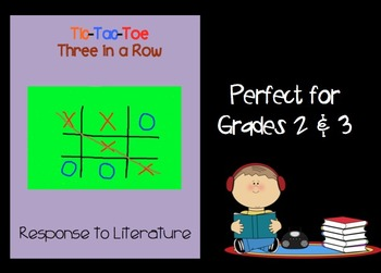 Tic-Tac-Toe Three in a Row Response to Literature