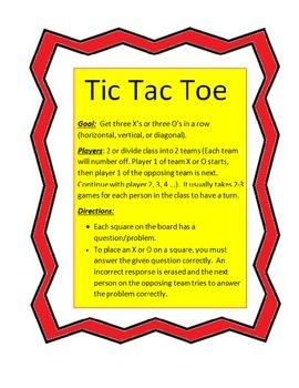 Tic Tac Toe Time