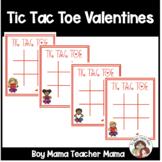 Tic Tac Toe Valentines from Classmates or Teachers