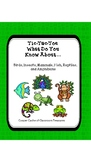 Parent and Teacher Helper: Reading Passages on Animals and Tic-Tac-Toe Fun