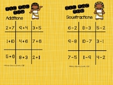 Tic Tac Toe additions et soustractions