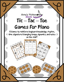 Tic Tac Toe for Piano! (Cookies Theme)