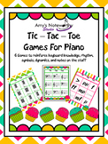 Tic Tac Toe for Piano! (Cupcake Theme)