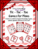 Tic Tac Toe for Piano! Valentine Edition