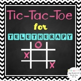 No Print Speech Therapy Tic Tac Toe Game   Distance Learning