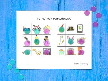 Tic Tac Toe in Spanish - Tres en raya (Polifacéticas C)