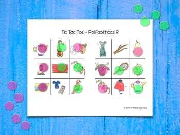 Tic Tac Toe in Spanish - Tres en raya (Polifacéticas R)