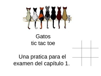 Greetings spanish i teaching resources teachers pay teachers tic tac toe review game for spanish i basic first concepts fandeluxe Choice Image