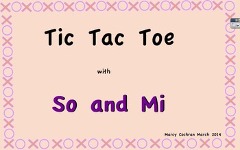 Tic Tac Toe with So and Mi