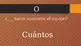 Tic Tac Toe with Spanish interrogative words