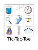 Tic Tac Toe with science tools SPanish and english