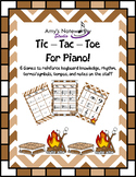 Tic Tac Toes Games for Piano! (Smores)