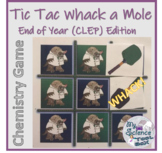 Tic Tac Whack a Mole - Chemistry Calculations CLEP Review Game